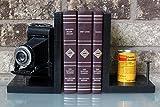 Vintage Kodak JR Six-20 Series II Folding Camera - Antique Decorative Camera Bookends