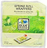 Blue Dragon Spring Roll Wrappers, 4.7 Ounce (Pack of 12)