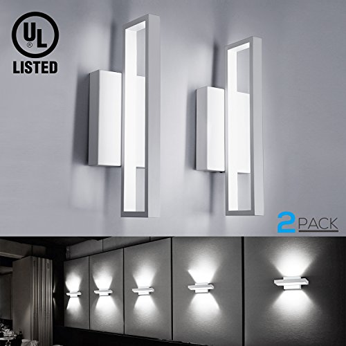Cheap  12W LED Square Wall Sconce, LED Wall Lights, 75W Incandescent Equivalent, 660lm..