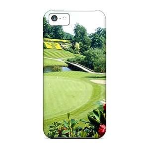 For Iphone 5c Premium Tpu Case Cover Golf Protective Case