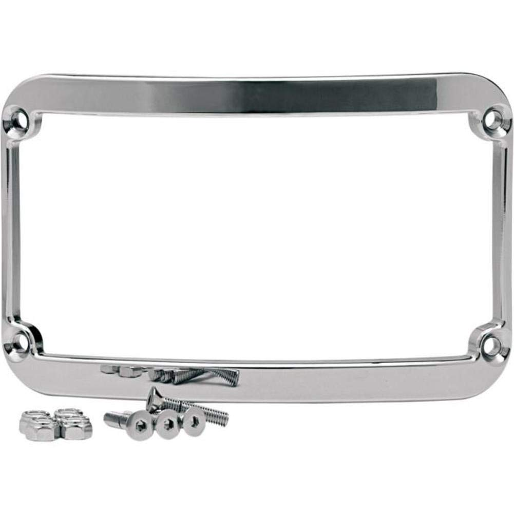 Klock Werks Frenched License Plate Frame Raw FL 97-10