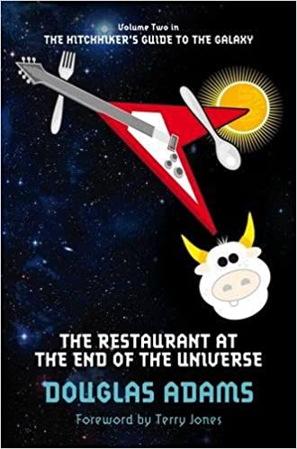 amazon the restaurant at the end of the universe the hitchhiker s