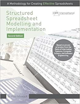 Book Structured Spreadsheet Modelling and Implementation: A Methodology for Creating Effective Spreadsheets