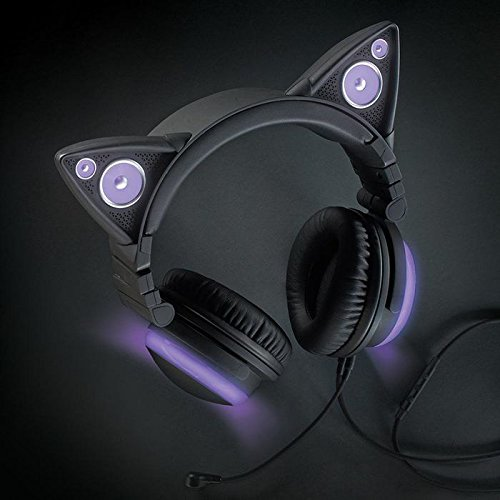 Wired Cat Ear Headphones Brookstone Headphones Earphones