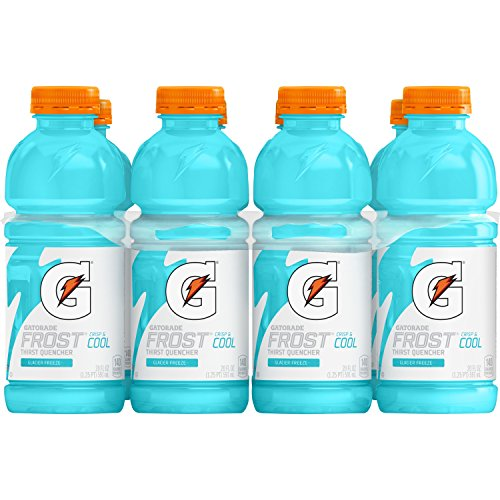Gatorade Frost Glacier Freeze 20 Ounce Bottles, Pack of 8 $4.23