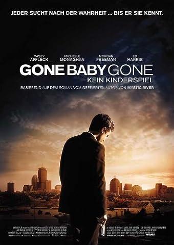 Gone Baby Gone Poster Movie German 11x17 Casey Affleck John Ashton Morgan Freeman Ed Harris (Gone Baby Gone Movie Poster)