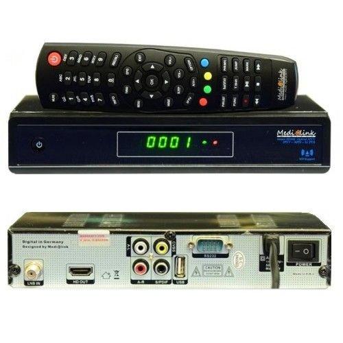 Medialink Smart Home DVB-S2 FTA IPTV Full HDTV Sat Receiver
