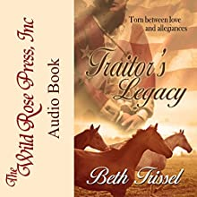 Traitor's Legacy Audiobook by Beth Trissel Narrated by Lisa Valdini