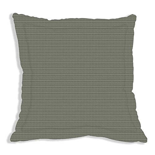(Patch Magic 26 by 26-Inch Windowpane Fabric Euro Sham, Small, Green/White)