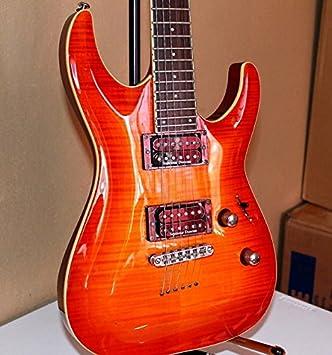Esp Ltd V de 401 FM STBK S de guitarra, E de Guitar Forma de V, H/H, SeeThru Black: Amazon.es: Instrumentos musicales