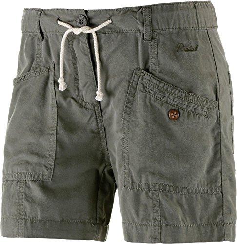 Protest–Pantalones cortos para mujer, color  - verde grisáceo, tamaño xx-large - verde grisáceo