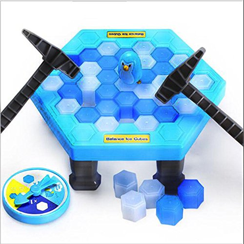 Save Broken Ice Wall Penguin Toy Interactive Board Desktop Game Parent-child Educational Toys by Fantarea