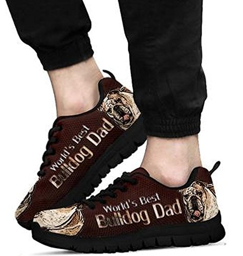Sneakers 6 Amazing Casual Black Brand Bulldog Men's Print Hq7wvOxX
