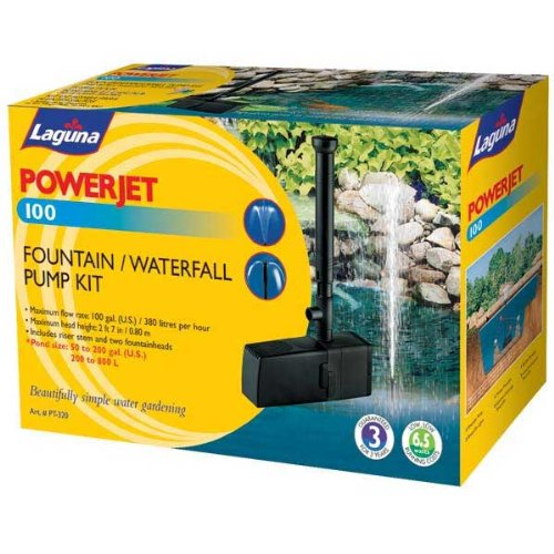 Laguna PowerJet 100 Fountain Pump (Hagen Valve)
