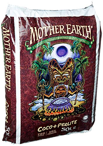 (Mother Earth Coco Plus Perlite Mix | 50L | RHP Certified Natural Plant Growth Media)