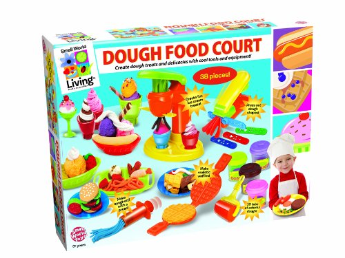 Small World Toys Living - Dough Food Court