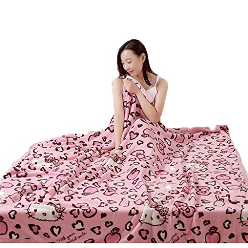 FUDIDD Thickened Micro-Velvet Blanket for Sofas and beds, Anti-Wrinkle, Fade-Resistant (150x200cm)