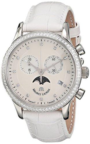 Maurice Lacroix Women's LC1087-SD501-160 Les Classiques Analog Display Analog Quartz White Watch