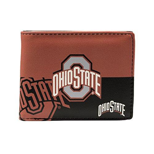 NCAA Ohio State Buckeyes Bi-fold Wallet Ohio Bi Fold Wallet
