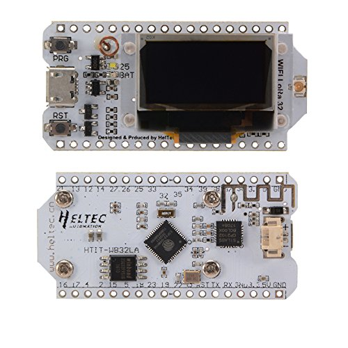 XCSOURCE 433MHZ SX1278 ESP32 LoRa 0.96'' OLED Display WIFI-BT Lora Kit Development Board for Arduino by XCSOURCE