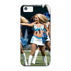 Iphone 5c Carolina Panthers Cheerleaders Tpu Silicone Gel Case Cover. Fits Iphone 5c