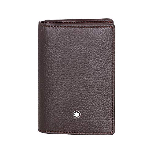 Montblanc Business Card Case, BROWN (Brown) - 114474