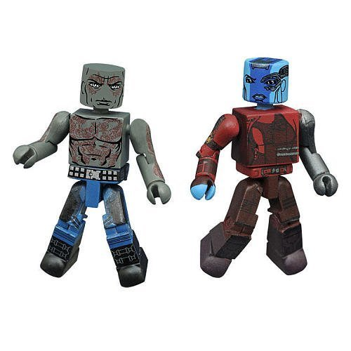 - Marvel Minimates - Guardians of the Galaxy Vol 2 - Nebula & Drax