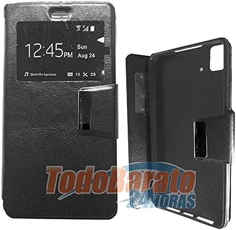 Todobarato24h Case Book Window Black Fnac Phablet Amazon Co Uk Electronics