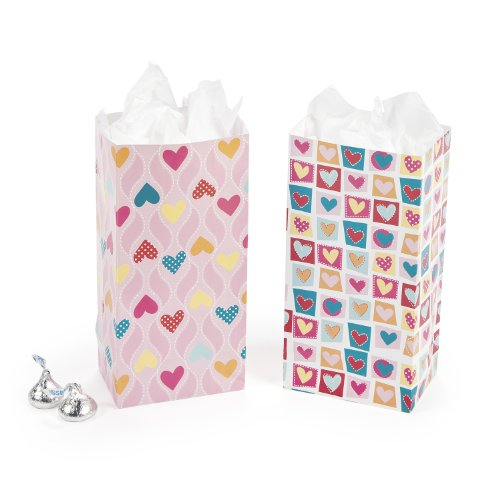 Valentine's Day Mini Treat Bags (2 (Dz Bags)
