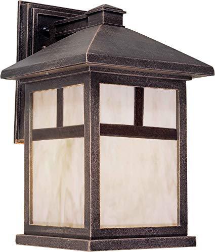 - Forte Lighting 1797-01-28 1LT Cast Al Outdoor Lantern