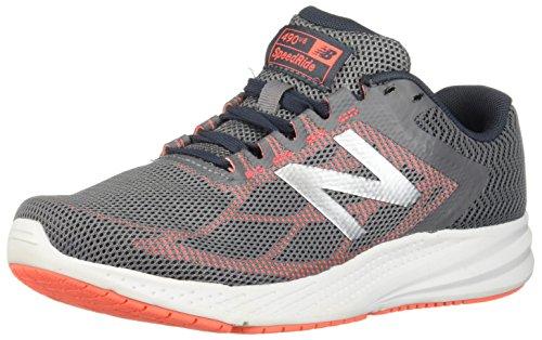 New Balance Women's 490v6 Cushioning Running Shoe, Gunmetal, 7 B US