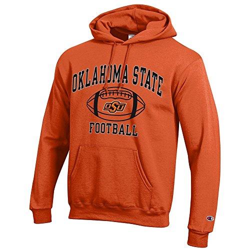 - Elite Fan Shop Oklahoma State Cowboys Hooded Football Sweatshirt Orange - L