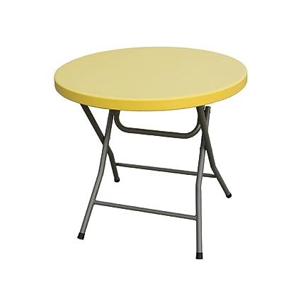 Tavolo Rotondo Per Esterno.Yanfei Tavolino Pieghevole Tavolo Rotondo Tavolo Per Esterno Tavolo