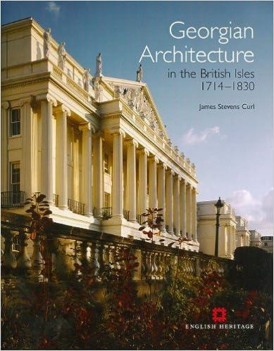 amazon com georgian architecture in the british isles 1714 1830