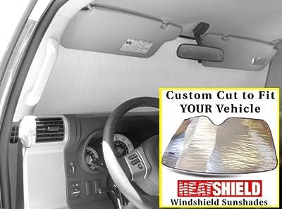 Sunshade for Dodge Sprinter Cargo Van w/Deep Set RV Mirror w/o Sensor 2007 2008 2009 2010 2011 2012 2013 2014 2015 2016 HEATSHIELD Custom-fit Sunshade #061