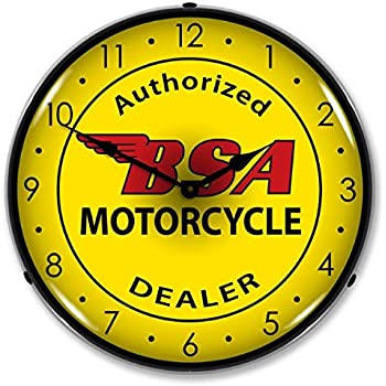 Amazon Com Collectable Sign And Clock 1008260 14 Quot Bsa