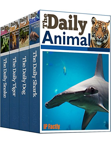 Snake Tiger (Daily Animal Facts Boxed Set: Books 1-4 of Kid's Headline-style Animals Book incl The Daily Shark, Daily Dog, Daily Tiger, Daily Snake (Animal Facts Series Box Set))