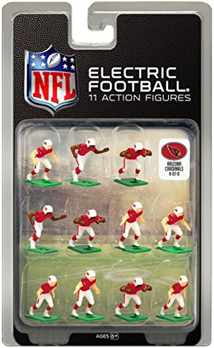 Arizona Cardinals Dark Uniform NFL Action Figure Set
