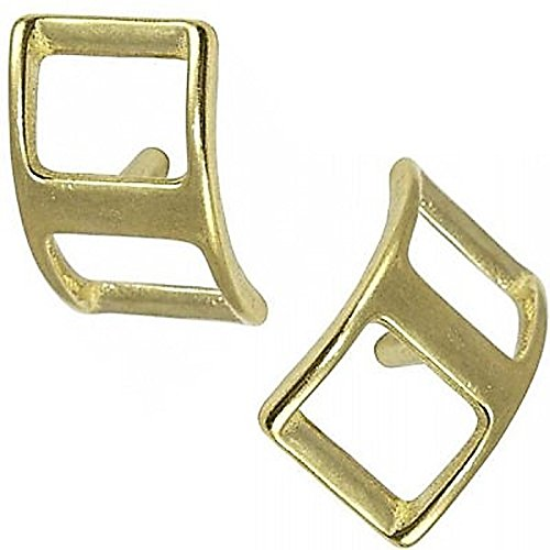 Hill Leather Company 2 pc Set of 1 Solid Brass Conway Buckle