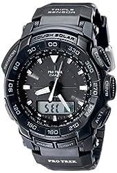 Casio Men's PRG550-1A1CR Pro Trek Triple Sensor Tough Solar Analog-Digital Watch