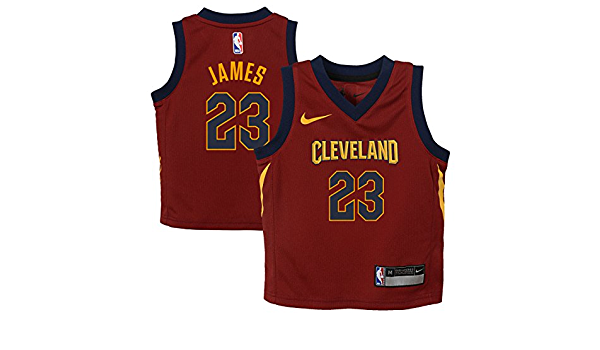 Nike NBA Cleveland Cavaliers Lebron James 23 2017 2018 Icon ...