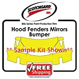 ALL CARS - 3M Scotchgard 846 Series - Hood Fender Tips Mirrors Bumper Paint Protection film kit