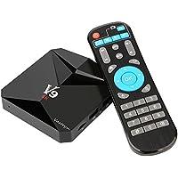 Amlogic S912 64bit Octa-core TV Box Android 7.1, Vasteyu Streaming Media Player 3GB Ram 32GB Rom 4K Ultra HD H.265 Dual-Band WIFI 2.4G/5G BT 4.0