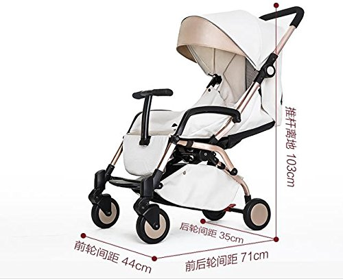 luxury baby stroller 3 in 1 ,cochecitos de bebe 3 en 1,360 landscape baby stroller,travel stroller,umbrella fold pushchair by vory (Image #2)