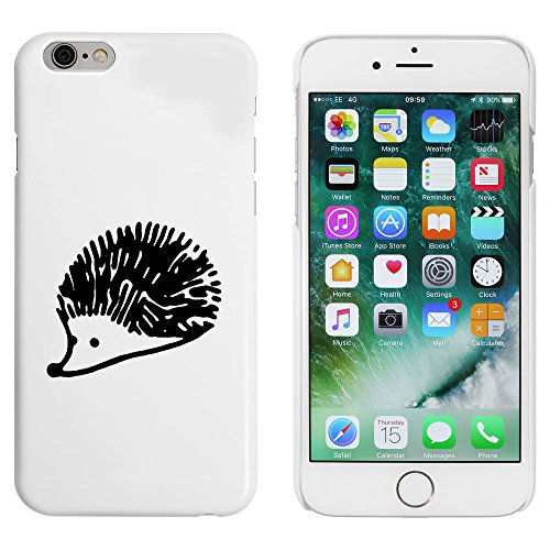 Weiß 'Netter Igel' Hülle für iPhone 6 u. 6s (MC00088441)