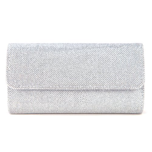 Ladies Evening Party Small Clutch Bag Bridal Purse Handbag Cross Body Tote by Anladia (Image #2)