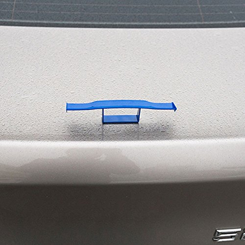 Hanbaili 2 St/ück schwarz 6.7 Universal Mini Spoiler Auto Heck Dekoration Spoiler Fl/ügel Keine Bohrungs-Trennteile