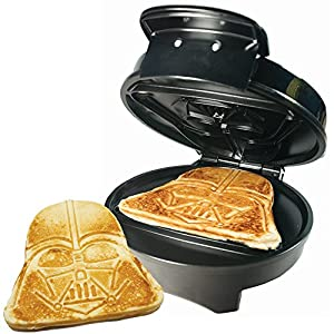 Darth Vader Waffle Maker – ok so for the most part i do like this device