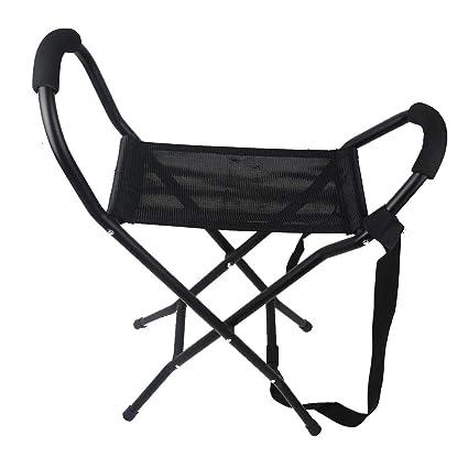 WENTAO Bastón Plegable,sillas Plegables portátiles con ...