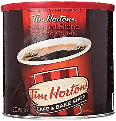 Tim Hortons 100% Arabica Medium Roast Original Blend Ground Coffee by Tim Hortons